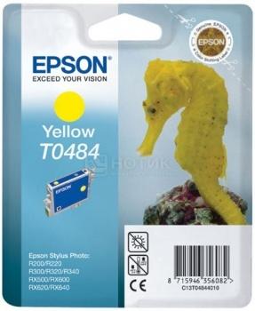 Картридж Epson T0484, Желтый C13T04844010