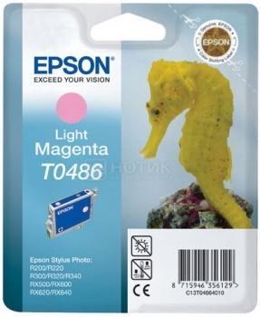 Картридж Epson T0486, Пурпурный C13T04864010 от Нотик