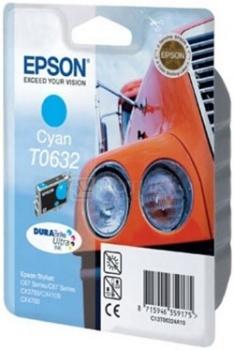 Картридж Epson T0632, Голубой C13T06324A10