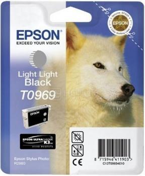 Картридж Epson T0969 для Stylus Pro 2880, Черный C13T09694010
