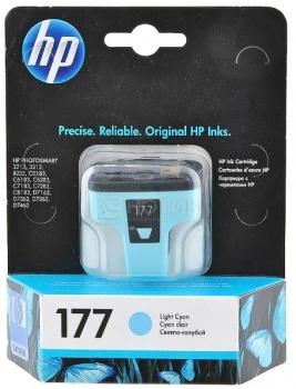 Картридж HP 177 для Photosmart 3213 3313 8253, Голубой C8774HE картридж hp 177 c8719he к ps 3313 3213 8253 черный c8719he