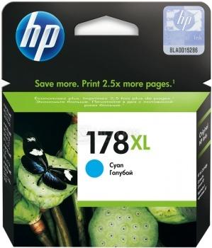 Картридж HP 178XL для PhotoSmart 5510 5515 5383 5583 6510 7510 голубой CB323HE