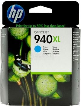 Картридж HP 940XL для Officejet Pro 8000 8500 8500A Голубой C4907AE