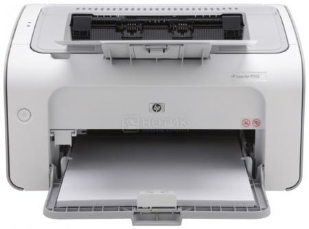 Принтер лазерный монохромный HP LaserJet Pro P1102, A4, 18 стр/мин, 2Mb, USB, Серый CE651A