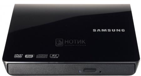 Привод DVD+/-RW Samsung SE-208DB/TSBS slim ext RTL Черный НОТИК 1650.000