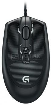 Мышь проводная Logitech G100s 910-003615, 2500dpi, Черный НОТИК 990.000