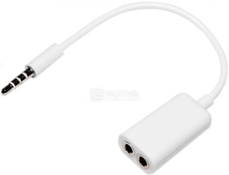 Аудио  разветвитель IQfuture для наушников (3.5 мм) IQ-SDC04, Белый