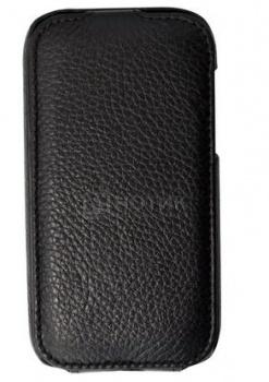 """Чехол-книжка 4,3"""" Clever Case для HTC ONE SV Кожа, Черный НОТИК 600.000"""