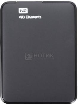 """Жесткий диск Western Digital 2Tb WDBU6Y0020BBK-EESN Elements Portable 2.5"""" USB 3.0, Черный"""