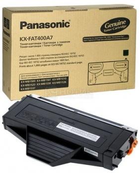 Тонер-картридж Panasonic KX-FAT410A7 для KX-MB1500 1520RU 2500стр Черный