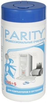 Салфетки влажные для компьютеров и оргтехники Parity 24061 105 шт. НОТИК 200.000