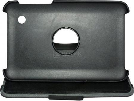 """Фотография товара чехол 7"""" SonicSettore Seoul для Galaxy Tab 3, Исскуственная кожа, Черный 371049 (28918)"""