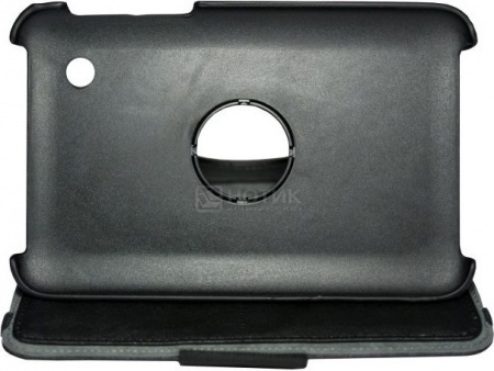 "Чехол 7"" SonicSettore Seoul для Galaxy Tab 3, Исскуственная кожа, Черный 371049 от Нотик"