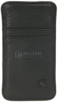 Чехол для iPhone 5 Tucano One Premium pouch IPH5PP Кожа, Черный