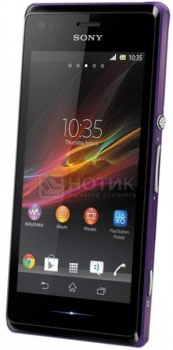 Смартфон Sony Xperia M Purple (Android 4.2/MSM8227S 1000MHz/4.0