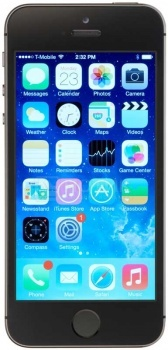 Смартфон Apple iPhone 5S 16Gb Space Gray (iOS/A7 1300MHz/4.0