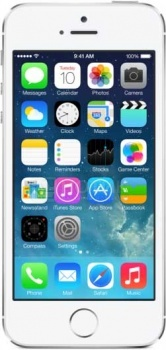 Смартфон Apple iPhone 5S 16Gb Silver (iOS/A7 1300MHz/4.0