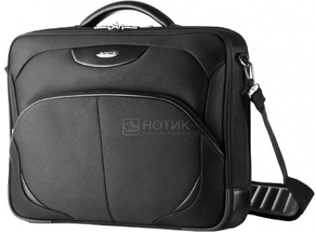 "Сумка 17"" Samsonite V73*002*09, Полиэстер, Черный"