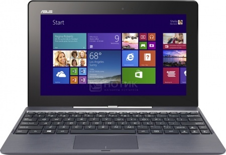 Планшет Asus Transformer Book T100TA 64Gb Mobile Dock (MS Windows 8 (32-bit)/Z3740 1300MHz/10.1