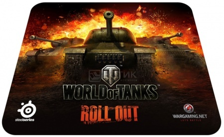 Коврик для мыши SteelSeries QcK World of Tanks 67269 НОТИК 900.000