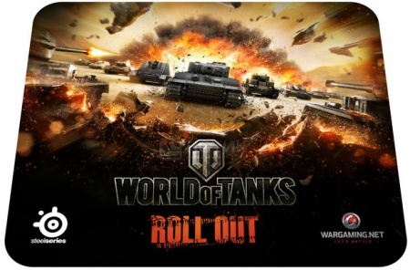 Коврик для мыши SteelSeries QcK World of Tanks Tiger Edition 67272 от Нотик