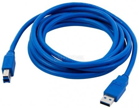 Кабель PC PET USB 3.0 A(m)-B(m) 3м, Синий НОТИК 360.000