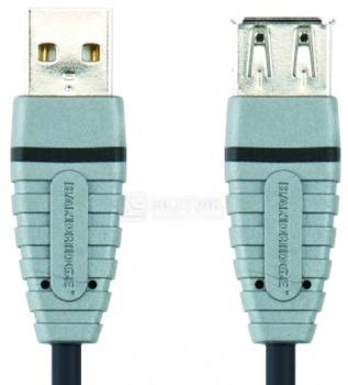 Кабель Bandridge USB 2.0 B(f)-A(f) 4.5м, Серый НОТИК 350.000