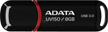 Флешка A-Data 8Gb UV150, Черный