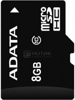 Карта памяти A-Data microSDHC 8Gb Class10 AUSDH8GCL10-R от Нотик