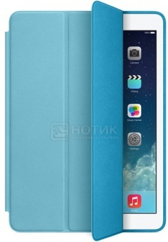 "Чехол 9.7"" Apple iPad Air Smart Case MF050ZM/A Кожа, ГолубойApple<br>Чехол 9.7"" Apple iPad Air Smart Case MF050ZM/A Кожа, Голубой<br>"