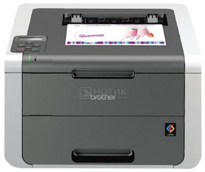 Принтер цветной светодиодный Brother HL-3140CW A4, 18 стр/мин, 64 Mb, WiFi, USB, Черный, HL3140CWR1
