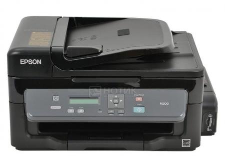МФУ струйное монохромное Epson M200 A4, 34 стр/мин; ADF; USB 2.0, Ethernet, Черный C11CC83311 от Нотик