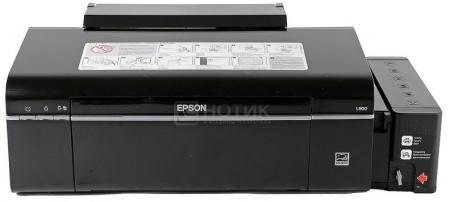 Принтер струйный Epson L800 A4 Фабрика Печати 38стр/мин USB Черный C11CB57301 от Нотик
