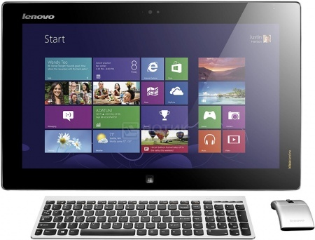 Моноблок Lenovo IdeaCentre Flex 20 (19.5 IPS (LED)/ Core i5 4200U 1600MHz/ 4096Mb/ HDD+SSD 500Gb/ Intel HD Graphics 4400 64Mb) MS Windows 8 (64-bit) [57318718] НОТИК 34400.000
