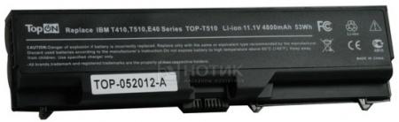 Аккумулятор TopON TOP-T510 11.1V 4800mAh PN: FRU 42T4702 FRU 42T4751 FRU 42T4753 FRU 42T4755 НОТИК 1990.000