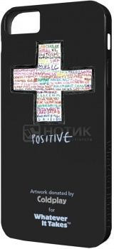 Чехол-накладка Whatever It Takes Coldplay для iPhone 5/5S, Пластик, Черный НОТИК 650.000