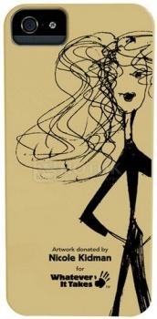 Чехол-накладка Whatever It Takes Nicole Kidman для iPhone 5/5S, Пластик, Желтый НОТИК 650.000