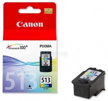 Картридж Canon CL-513, Цветной 350 стр. 2971B007
