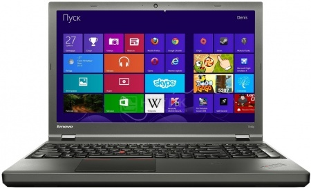 Ноутбук Lenovo ThinkPad T540p (15.6 LED/ Core i7 4600M 2900MHz/ 12288Mb/ HDD+SSD 1000Gb/ Intel HD Graphics 4600 64Mb) MS Windows 7 Professional (64-bit) [20BEA00CRT] от Нотик