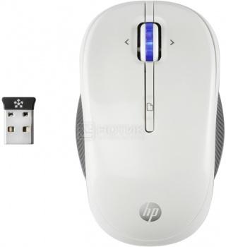 Мышь беспроводная HP X3300 Wireless Mouse White H4N94AA, 1200dpi, Белый