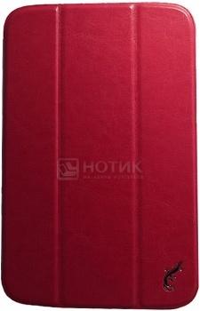 Чехол для Samsung Galaxy Note 8.0 G-case Slim Premium, Кожа, Красный