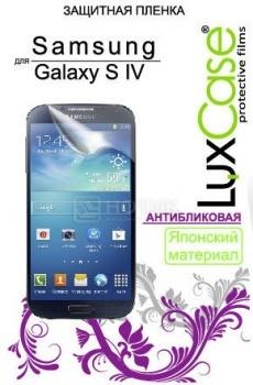 Защитная пленка LuxCase для Samsung Galaxy S4 GT-i9500 Антибликовая НОТИК 300.000