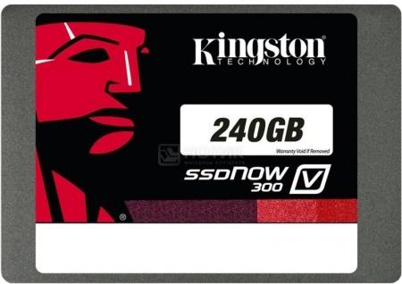 """Внутренний SSD-накопитель Kingston SATA SV300S37A V300 240Gb 2.5"""" Черный"""