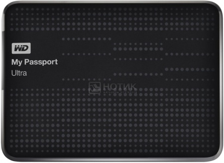 "Жесткий диск Western Digital 2Tb WDBBUZ0020BBK-EEUE My Passport Ultra 2.5"" USB 3.0, Черный НОТИК 4800.000"