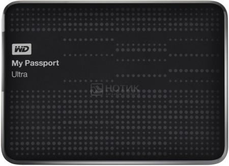 """Жесткий диск Western Digital 2Tb WDBBUZ0020BBK-EEUE My Passport Ultra 2.5"""" USB 3.0, Черный"""