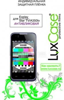 Защитная плёнка LuxCase Explay StarTV/A350TV, Антибликовая НОТИК 250.000