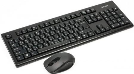 Комплект беспроводной клавиатура+мышь A4Tech 7100H GR-85+G7-630D USB, Черный НОТИК 1150.000