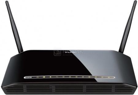 Маршрутизатор D-Link DIR-632 802.11n 8x10/100TX, 1xUSB, до 300Мбит/с Черный НОТИК 1690.000