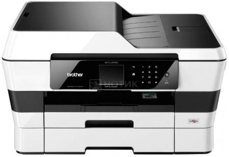 МФУ струйное Brother MFC-J3720 A3 22/20стр/мин факс дуплекс ADF доп.лоток 250 листов USB LAN WiFi Черный/Белый MFCJ3720R1