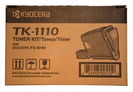 Тонер Kyocera TK-1110  для FS-1040 1020MFP/ 1120MFP, 2500стр, TK1110 tk1110 bk compatible toner cartridge for kyocera tk 1110 tk 1111 tk 1112 fs 1020 fs 1040 fs 1120 fs 1120mfp 2 5k free shipping